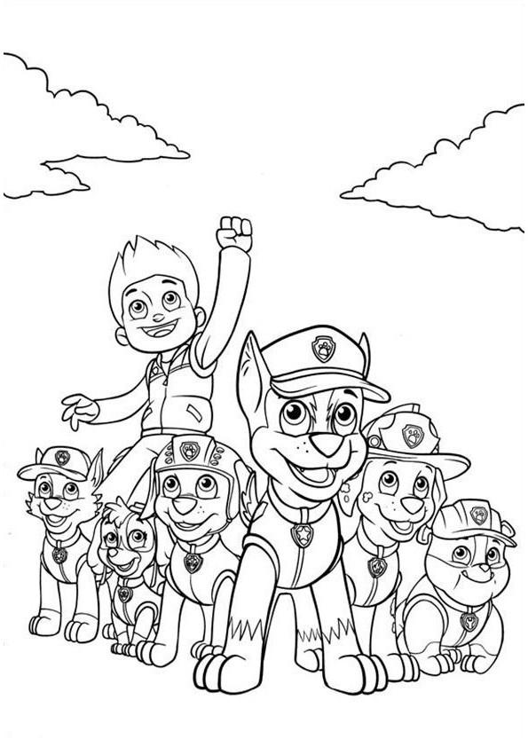 Malvorlagen Paw Patrol Einzigartig 33 Beste Von Paw Patrol Ausmalbilder – Malvorlagen Ideen Sammlung