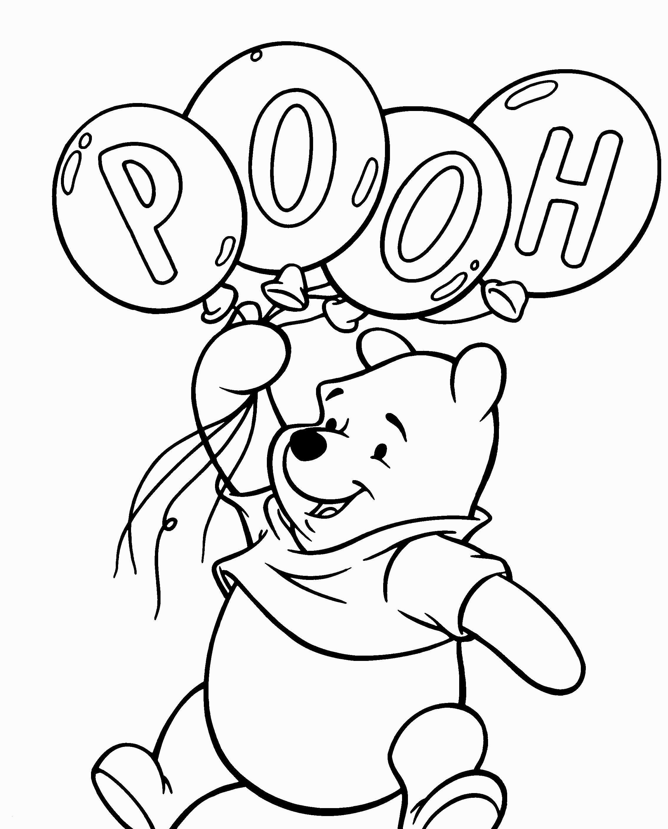 Malvorlagen Winnie Pooh Frisch Tigger From Winnie the Pooh Coloring Pages Lovely Disney Coloring Galerie