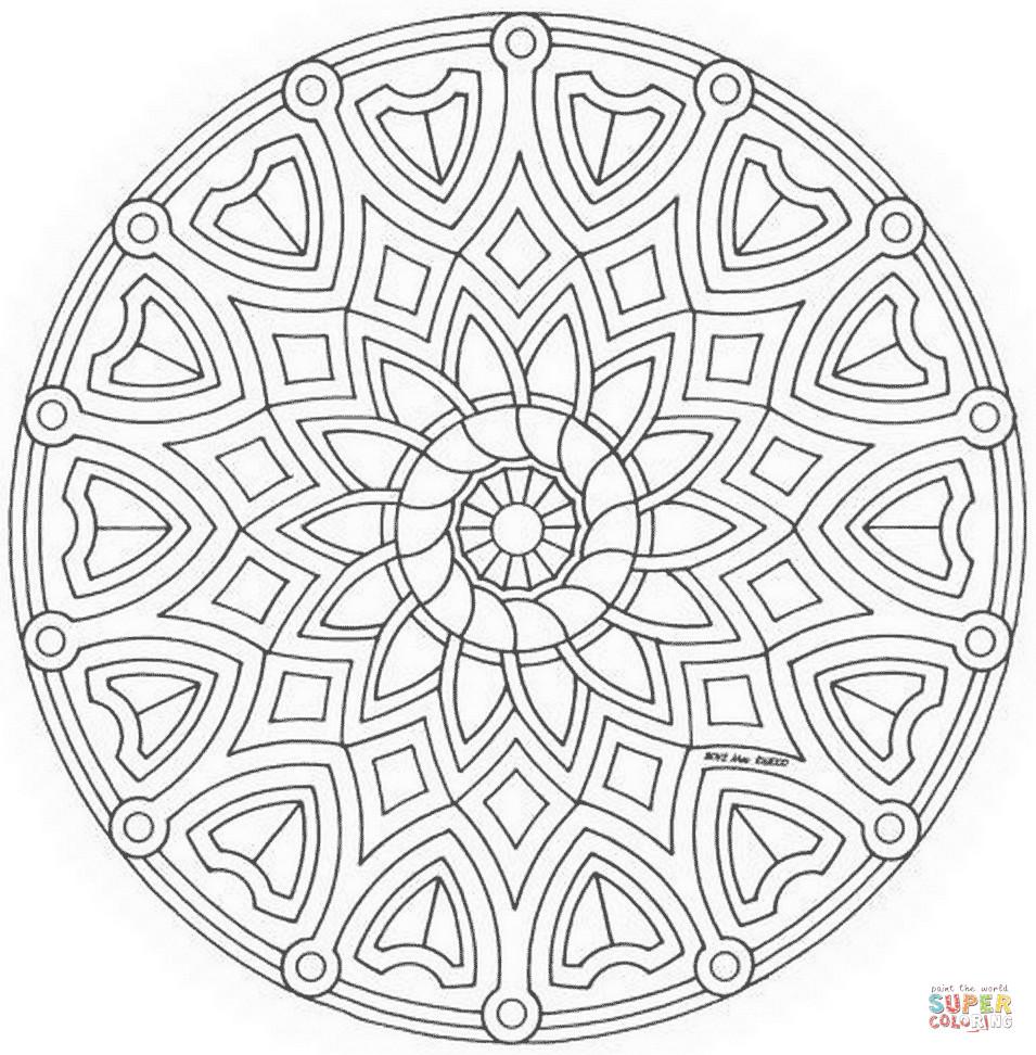 Mandala Herbst Zum Ausdrucken Einzigartig Druckbare Malvorlage Ausmalbilder Mandala Beste Druckbare Fotos