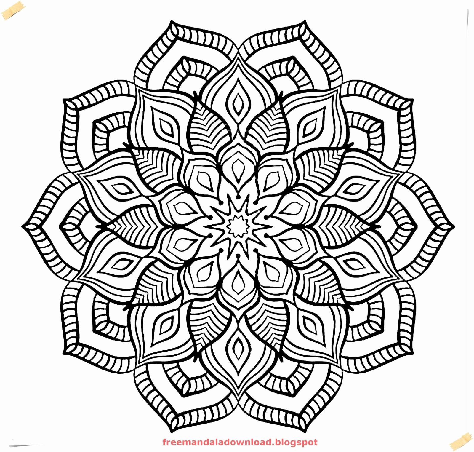 Mandala Zum Ausdrucken Erwachsene Einzigartig Schwierige Mandalas Zum Ausdrucken Bilder Malvorlagen Igel Elegant Bilder