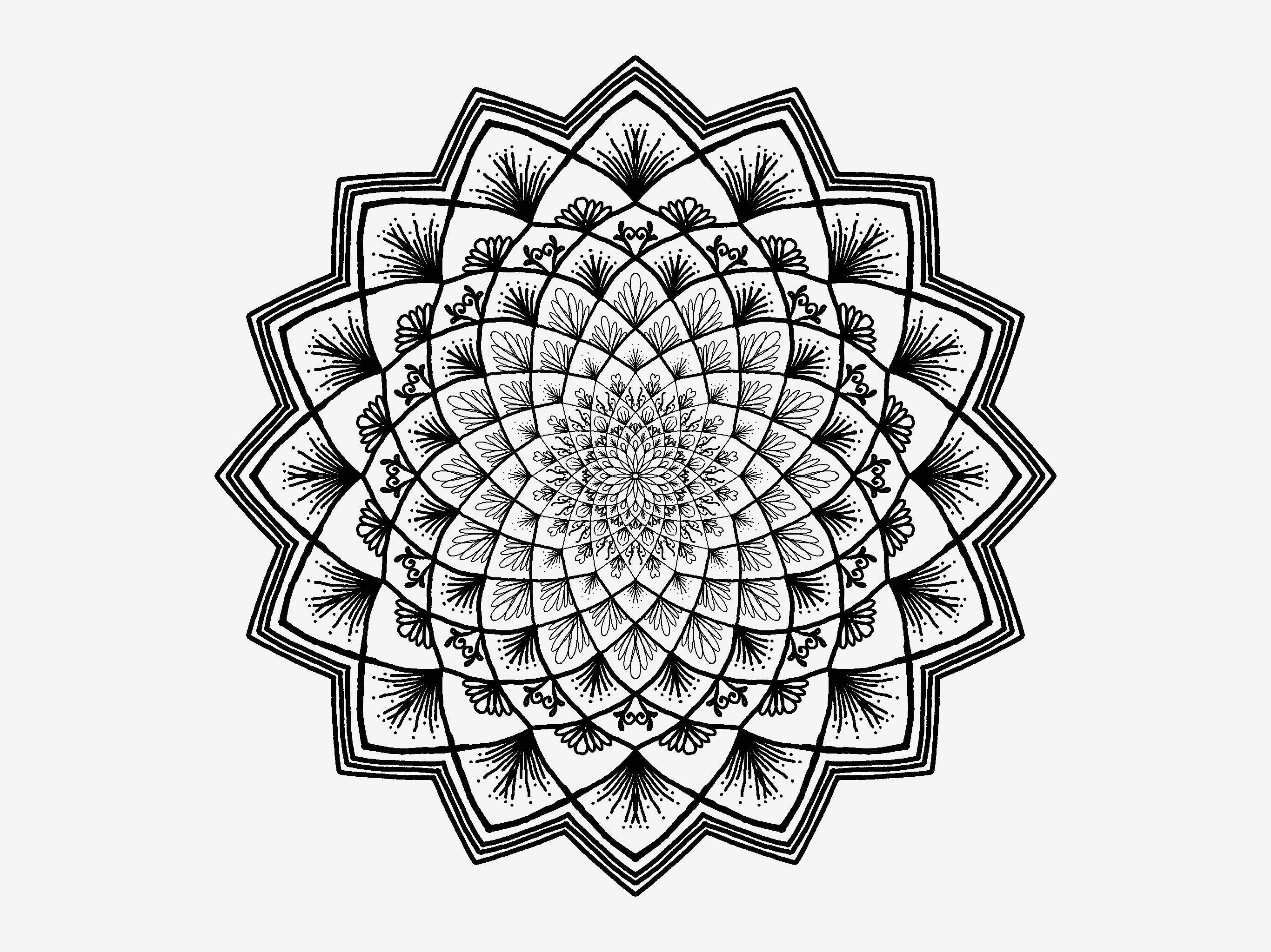 Mandala Zum Ausdrucken Erwachsene Frisch Ausmalbilder Mandala Eine Sammlung Von Färbung Bilder Malvorlagen F Fotografieren