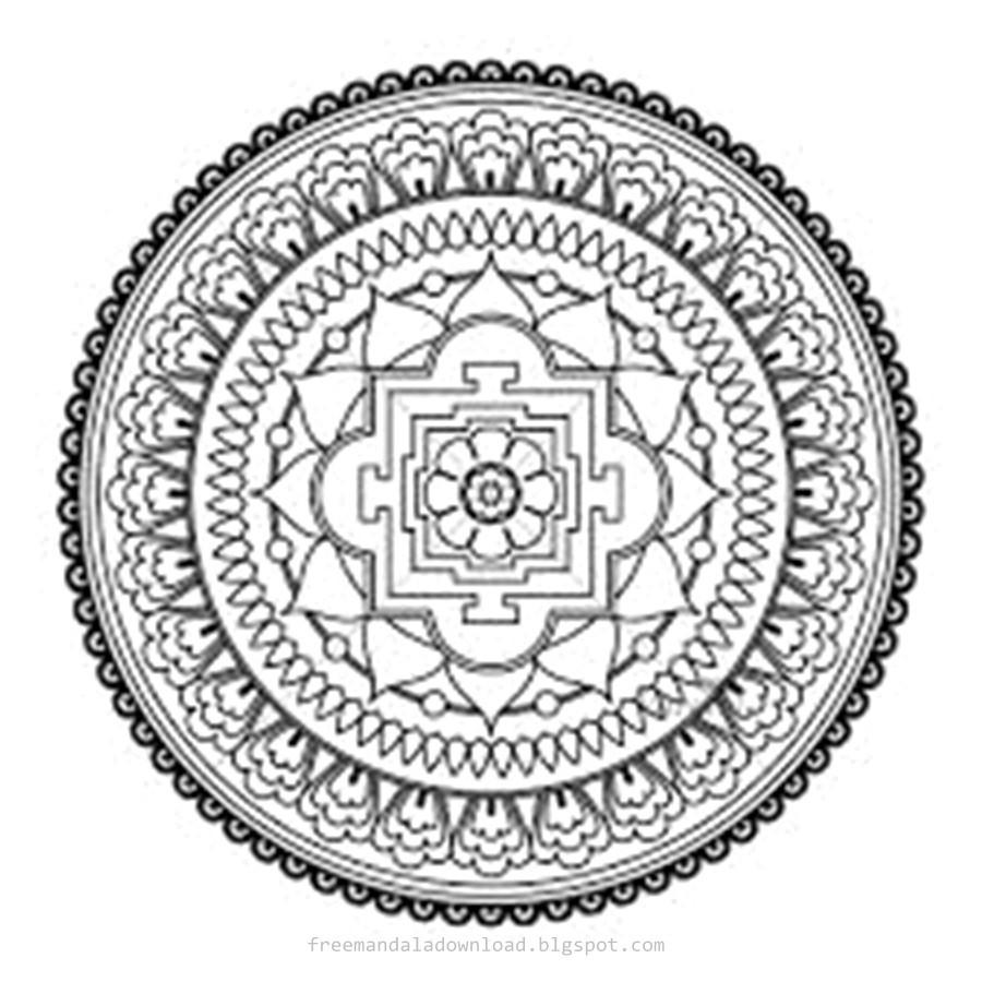 Mandala Zum Ausdrucken Erwachsene Frisch Schwierige Mandalas Für Erwachsene Free Mandala Genial Ausmalbilder Bilder