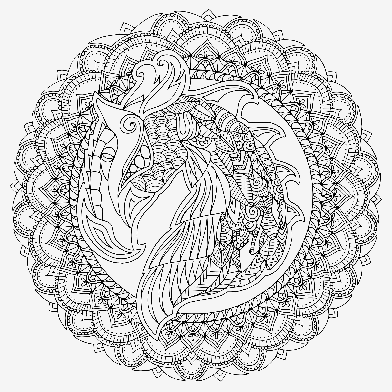 Mandala Zum Ausdrucken Erwachsene Frisch Spannende Coloring Bilder Malvorlagen Mandalas Für Erwachsene Stock