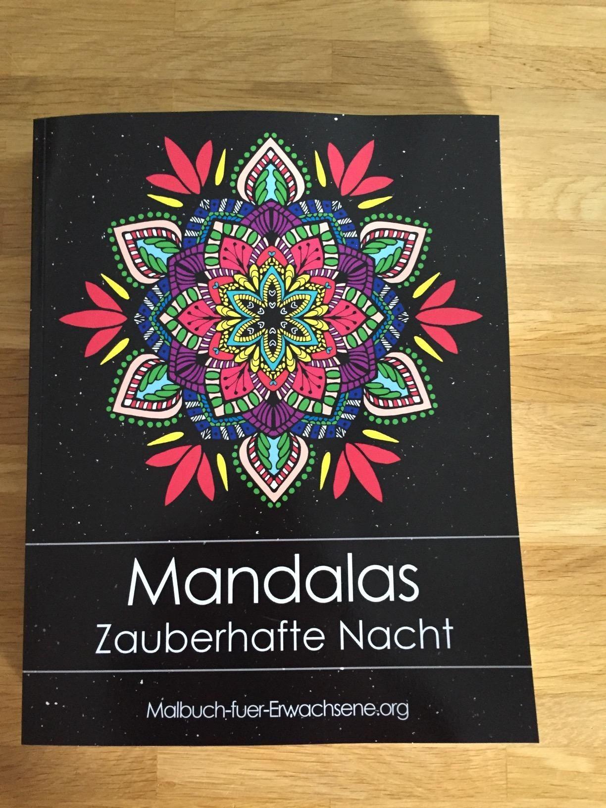 Mandala Zum Ausdrucken Erwachsene Neu Malbuch Für Erwachsene Mandalas Auf Schwarzem Hintergrund Das Bild