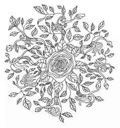 Mandala Zum Ausdrucken Rosen Inspirierend 506 Besten Mandala Bilder Auf Pinterest In 2018 Galerie