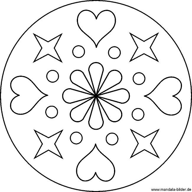 Mandalas Zum Ausdrucken Herzen Frisch Herz Malen Vorlage Bilder Ideen Sammlung