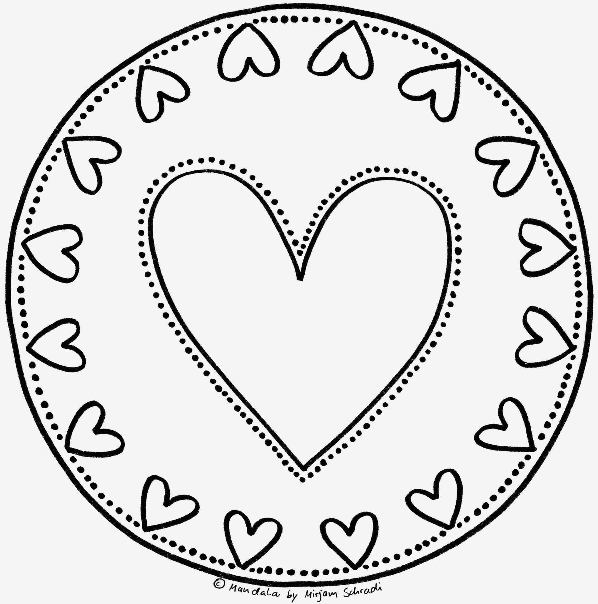 Mandalas Zum Ausdrucken Herzen Genial Bildergalerie & Bilder Zum Ausmalen Mandala Zum Ausmalen Bild