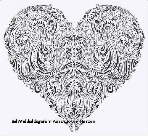 Mandalas Zum Ausdrucken Herzen Neu Ausmalbilder Zum Ausdrucken Herzen 3d Malvorlage Mit Herzen Mandalas Sammlung
