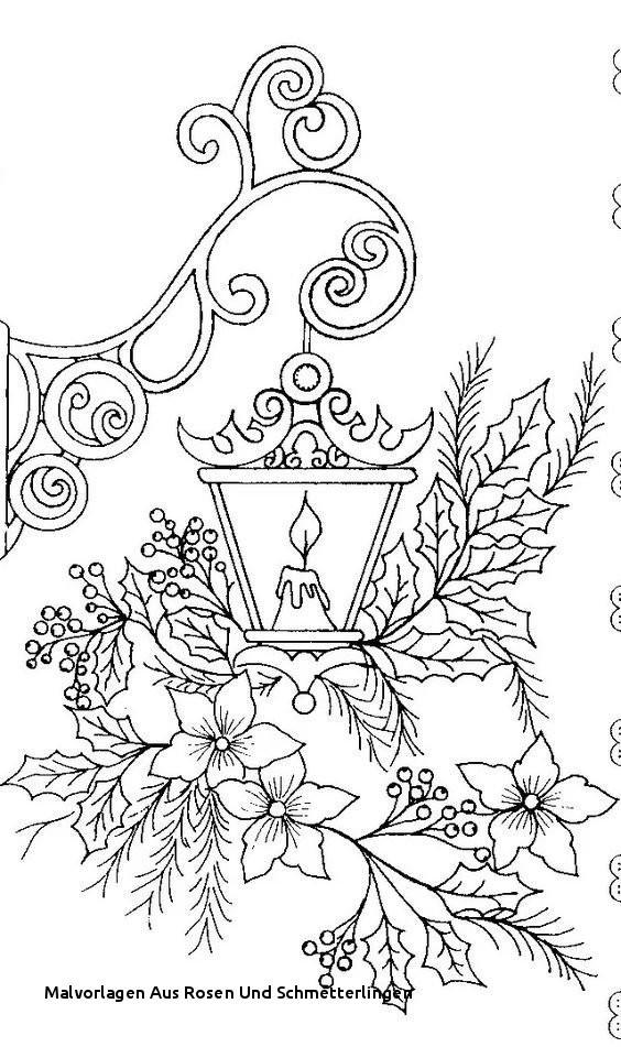 Mandalas Zum Ausmalen Schmetterling Inspirierend Malvorlagen Aus Rosen Und Schmetterlingen 40 Hübsche Mandala Das Bild