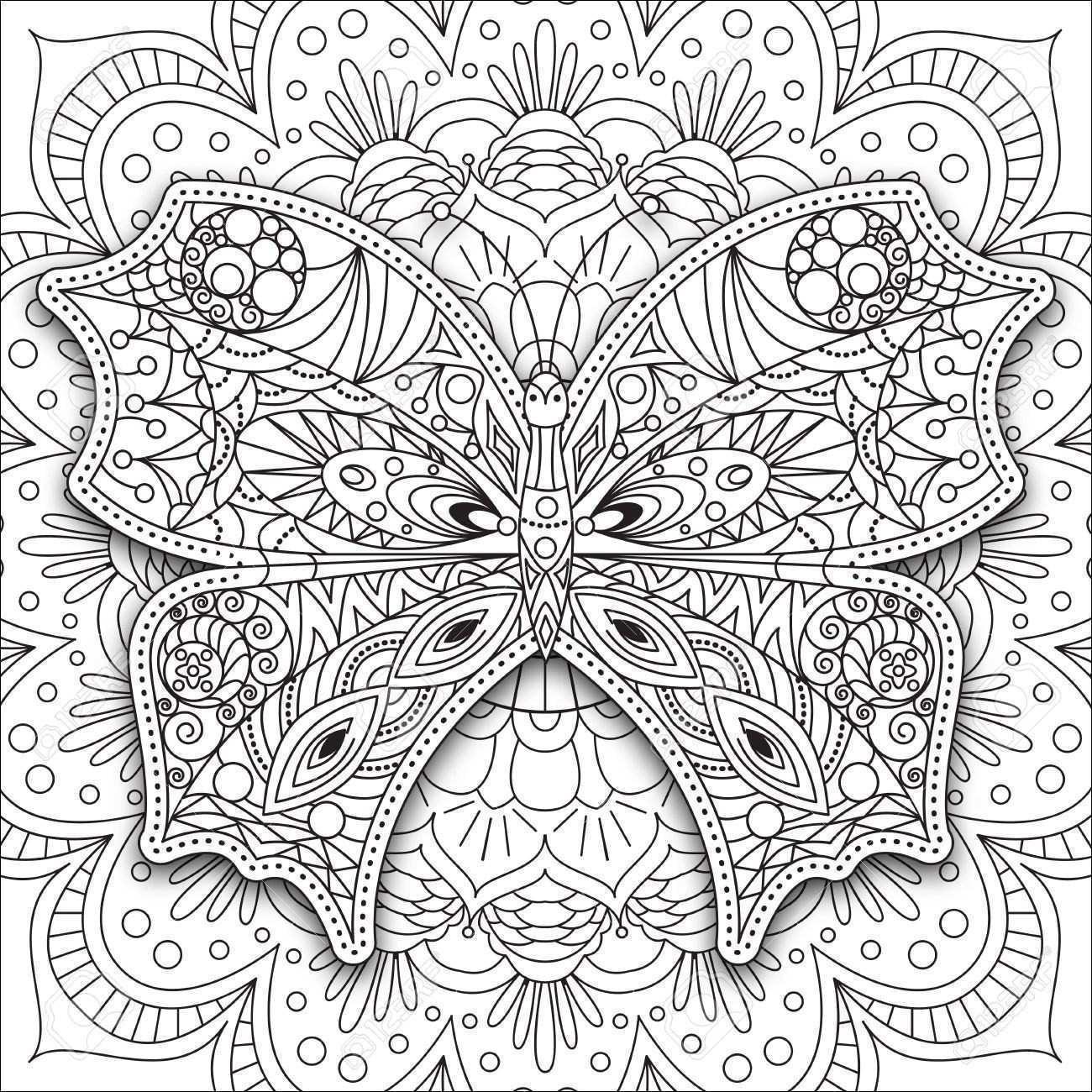 Mandalas Zum Ausmalen Schmetterling Neu Winter Mandalas Zum Ausdrucken Bildnis 37 Ausmalbilder Mandala Sammlung