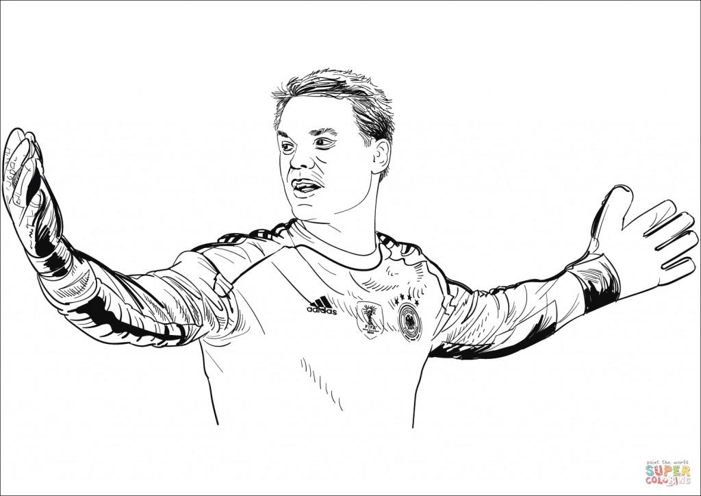 Manuel Neuer Ausmalbilder Frisch Druckbare Malvorlage Fußball Ausmalbilder Beste Druckbare Fotos