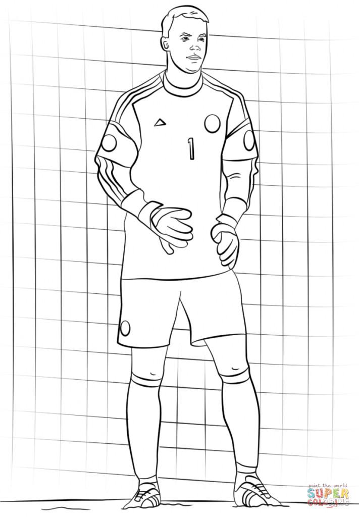 Manuel Neuer Ausmalbilder Neu Druckbare Malvorlage Fußball Ausmalbilder Beste Druckbare Das Bild