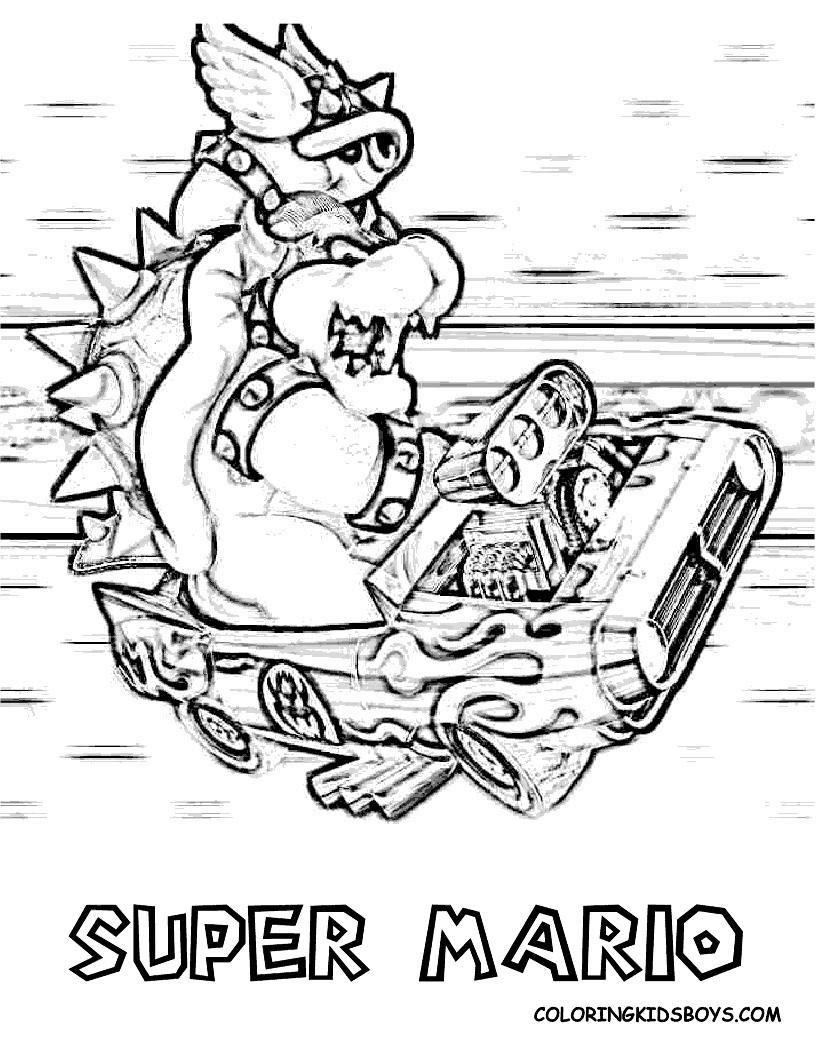 Mario Kart Ausmalbild Das Beste Von Konabeun Zum Ausdrucken Ausmalbilder Mario Kart Schön Ausmalbilder Bilder