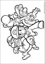 Mario Kart Ausmalbild Einzigartig Mario Ausmalbilder 04 Mario Und Luigi Pinterest Bild