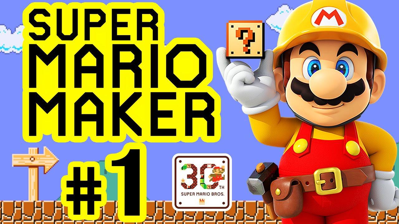 Mario Kart Ausmalbild Genial Super Mario Maker 01 ¢Ëœ† 30th Super Mario Bros Anniversary [hd Luxus Fotografieren