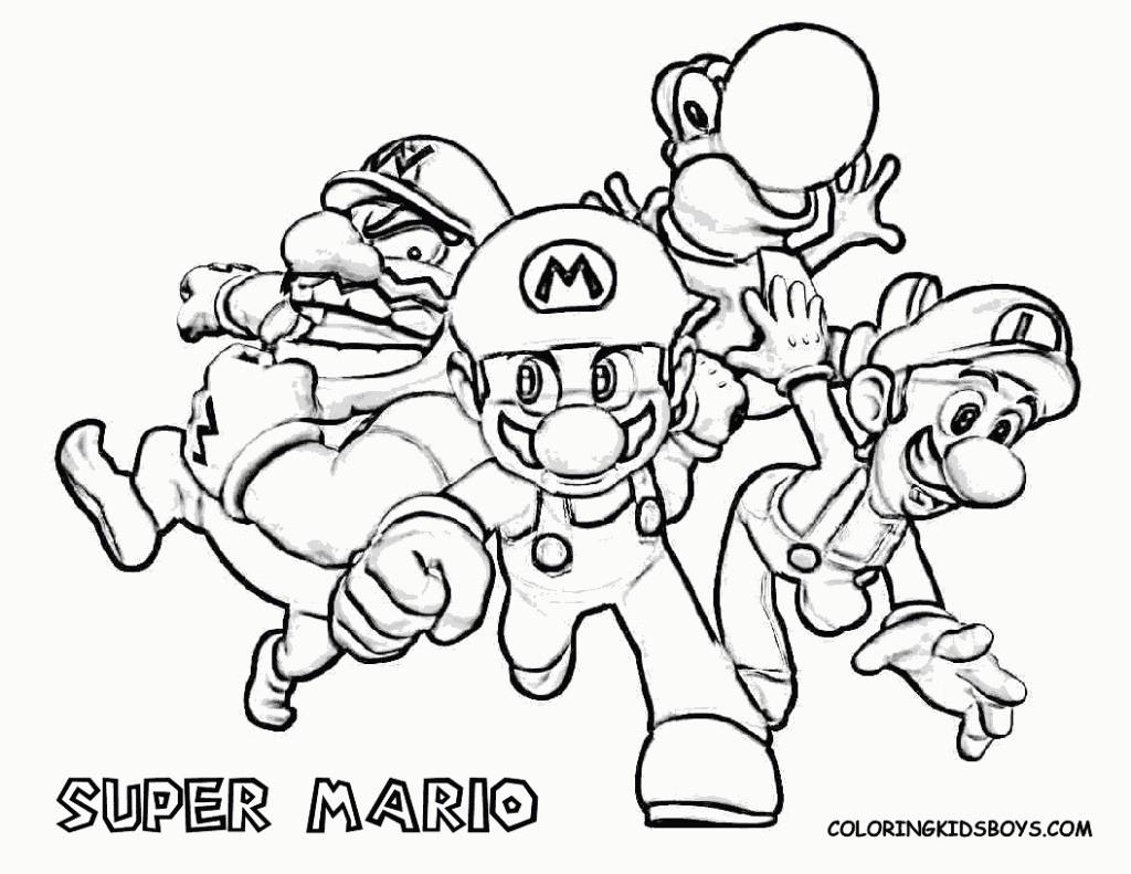 Mario Kart Ausmalbild Genial Unique Mario Coloring Pages to Print Free Coloring Schön Super Mario Sammlung