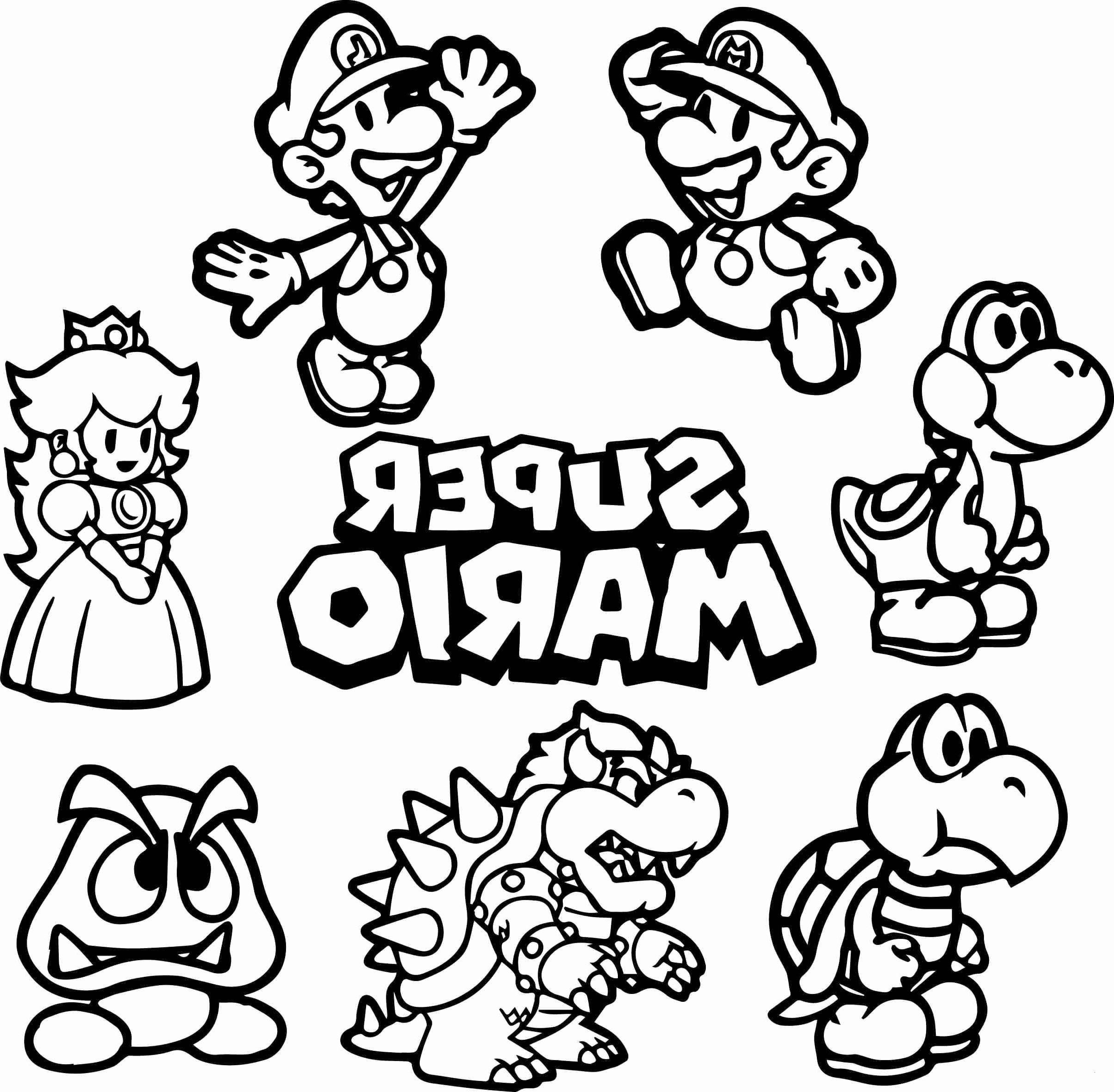 Mario Zum Ausmalen Das Beste Von 28 Inspirierend Ausmalbild Super Mario – Malvorlagen Ideen Sammlung