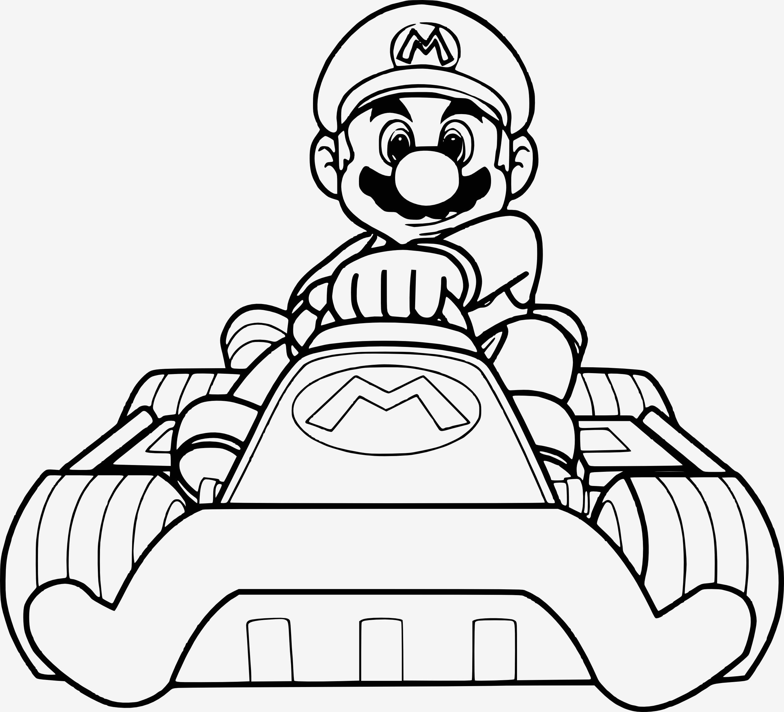 Mario Zum Ausmalen Frisch Beispielbilder Färben Malvorlagen Mario Kostenlos Sammlung