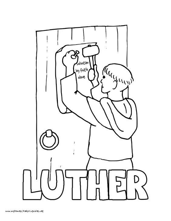 Martin Luther Bilder Zum Ausmalen Inspirierend 11 Best Reformation Sunday Images On Pinterest Galerie