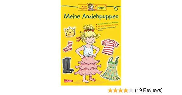 Meine Freundin Conni Ausmalbilder Inspirierend Conni Gelbe Reihe Meine Anziehpuppen Amazon Hanna Sörensen Fotos