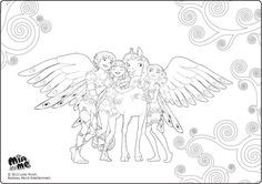 Mia and Me Coloring Pages Genial 161 Best Mia and Me Images On Pinterest In 2018 Sammlung