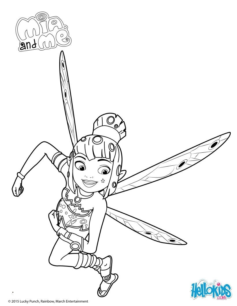 Mia and Me Zum Ausmalen Das Beste Von Mia and Me Coloring Pages Best 9 Best Mia and Me Coloring Frisch Stock
