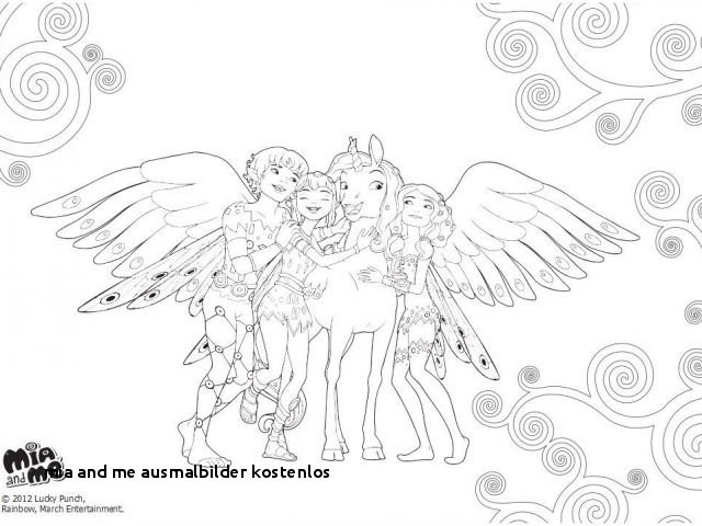 Mia and Me Zum Ausmalen Genial 24 Mia and Me Ausmalbilder Kostenlos Colorprint Sammlung