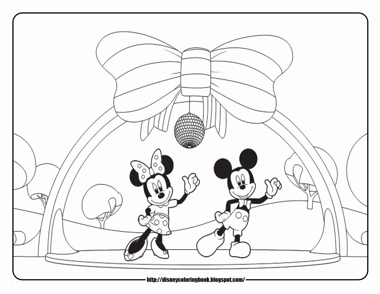 Mickey Mouse Zum Ausmalen Frisch Ausmalbilder Micky Maus Baby Best 40 Mini Maus Ausmalbilder Fotos