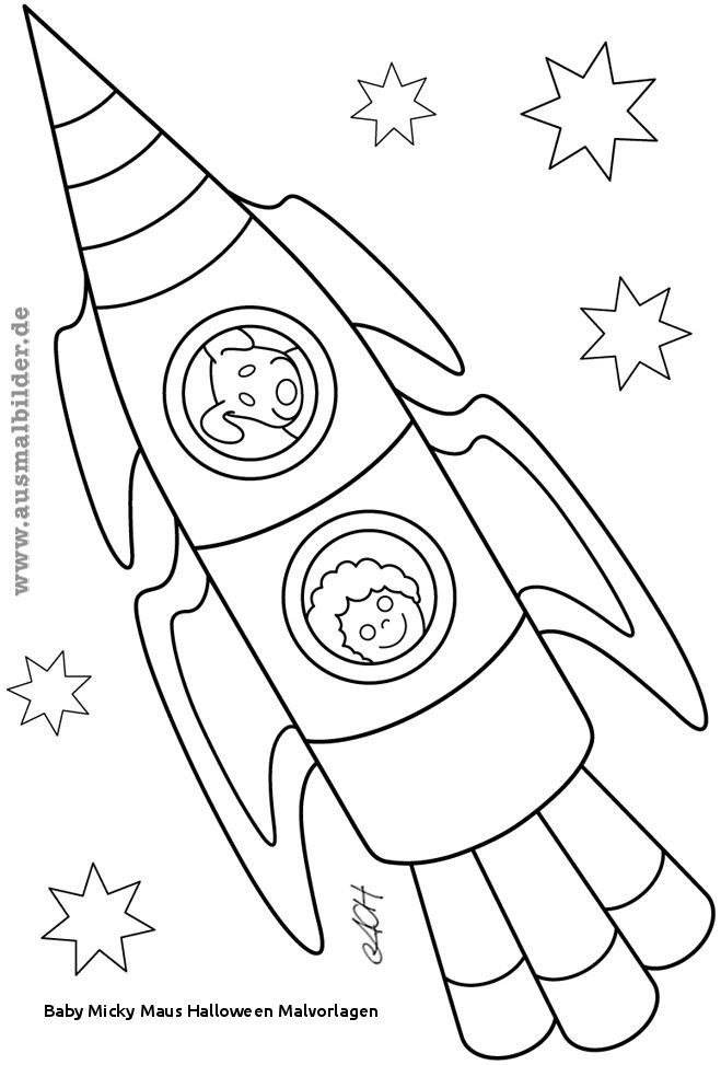 Micky Maus Baby Ausmalbilder Einzigartig Baby Micky Maus Halloween Malvorlagen Ausmalbilder Rakete Bild