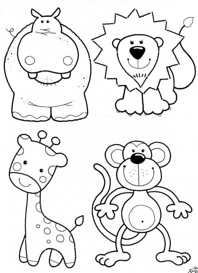 Micky Maus Baby Ausmalbilder Genial Ausmalbilder Dschungeltiere 01 Little Es Schön Ausmalbilder Baby Bilder