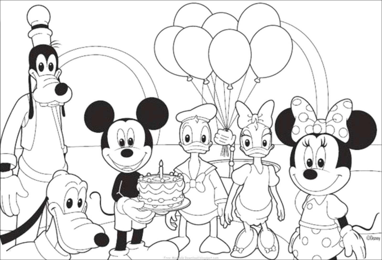 Micky Maus Bilder Zum Ausmalen Frisch Minnie Und Mickey Mouse Ausmalbilder Foto Micky Maus Ausmalbilder Das Bild