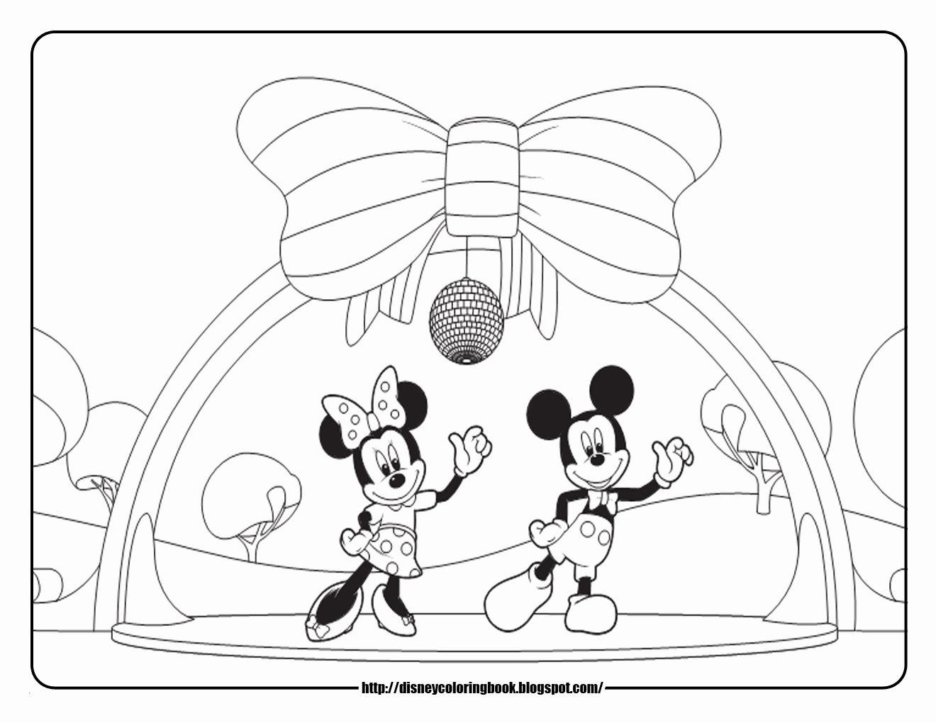 Micky Maus Malvorlage Inspirierend Micky Maus Ausmalbilder