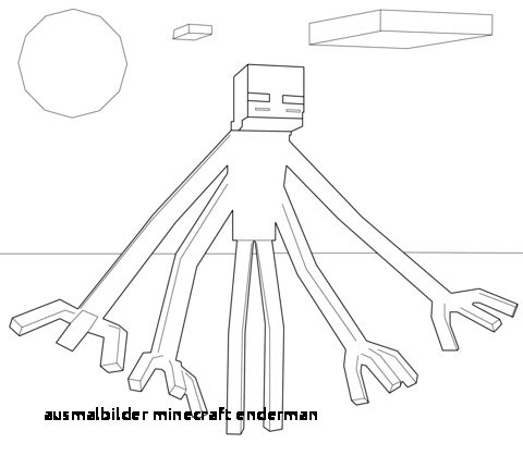 Minecraft Ausmalbilder Enderman Inspirierend 21 Ausmalbilder Minecraft Enderman Colorprint Das Bild
