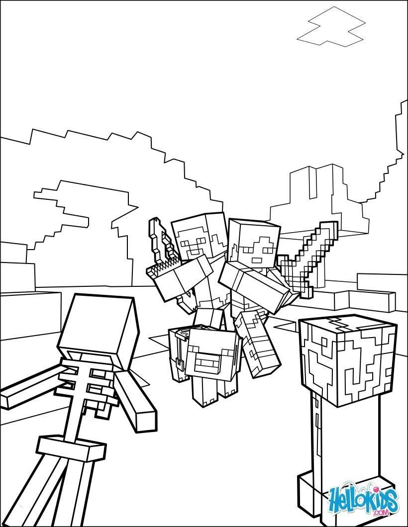 Minecraft Ausmalbilder Schwert Das Beste Von 35 Minecraft Ausmalbilder Steve Scoredatscore Elegant Ausmalbilder Bild