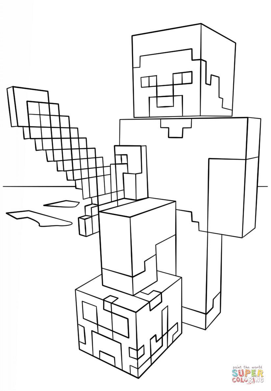 Minecraft Ausmalbilder Schwert Genial Ausmalbild Minecraft Ender Drache Genial Ausmalbilder Minecraft Fotografieren