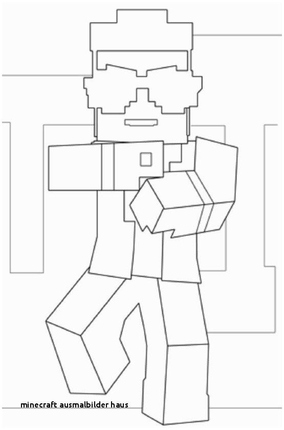 Minecraft Bilder Zum Ausmalen Einzigartig Minecraft Ausmalbilder Haus Malvorlage Haus Colorprint Stock