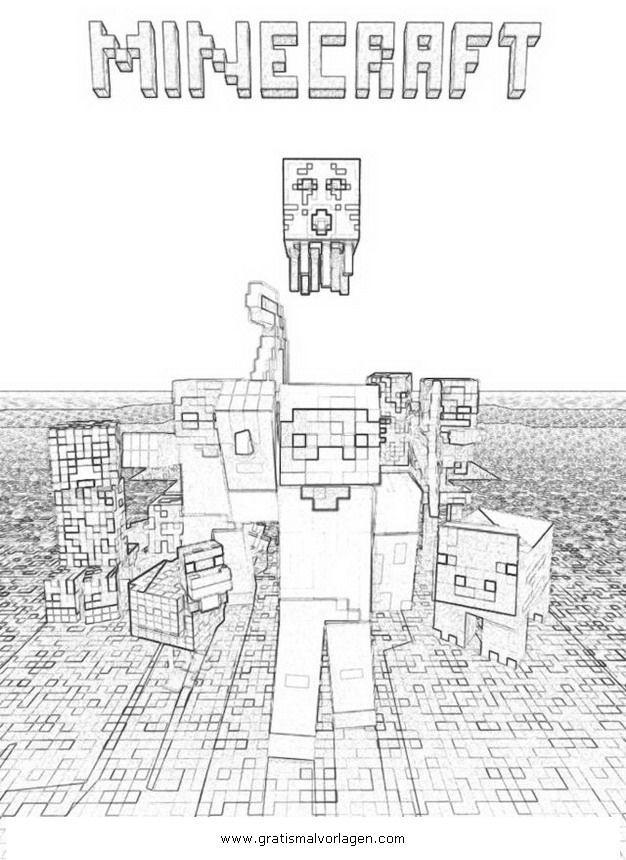 Minecraft Bilder Zum Ausmalen Frisch Minecraft Ausmalbilder Gratis 01 Ausmalbilder Fotografieren