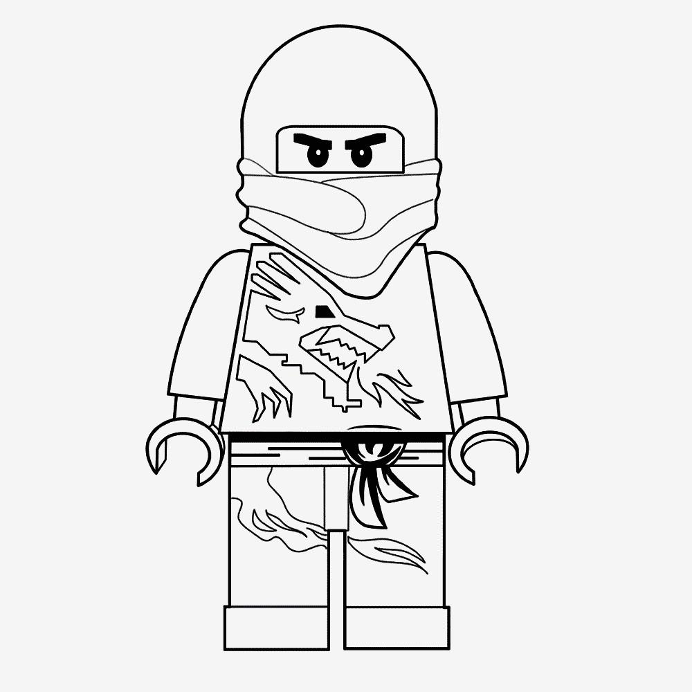 Minecraft Bilder Zum Ausmalen Inspirierend Ninjago Malvorlagen Kostenlos Zum Ausdrucken Spannende Coloring Das Bild