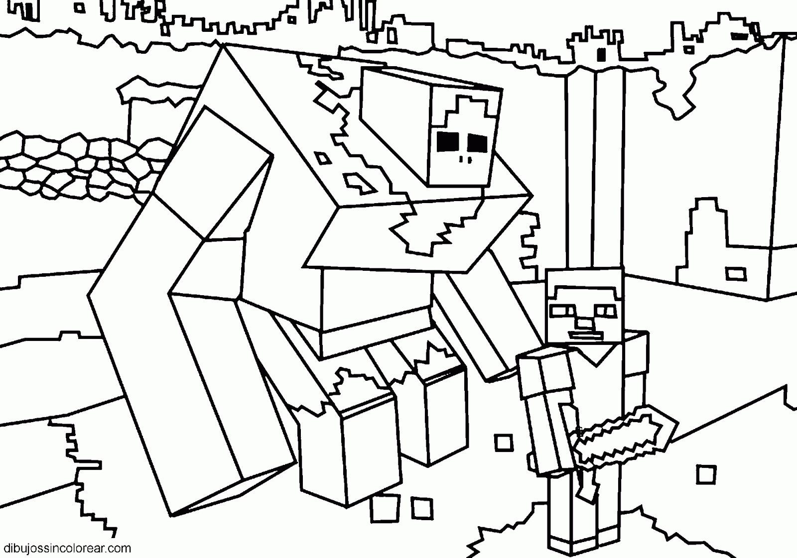 Minecraft Bilder Zum Ausmalen Inspirierend Steve De Minecraft Para Imprimir Y Pintar Minecraft Frisch Minecraft Bild