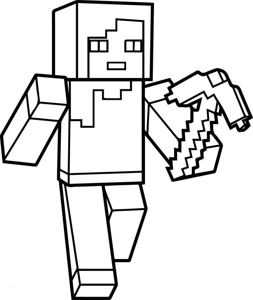 Minecraft Bilder Zum Ausmalen Neu Lovely Minecraft Steve Coloring Pages Coloring Pages Elegant Galerie