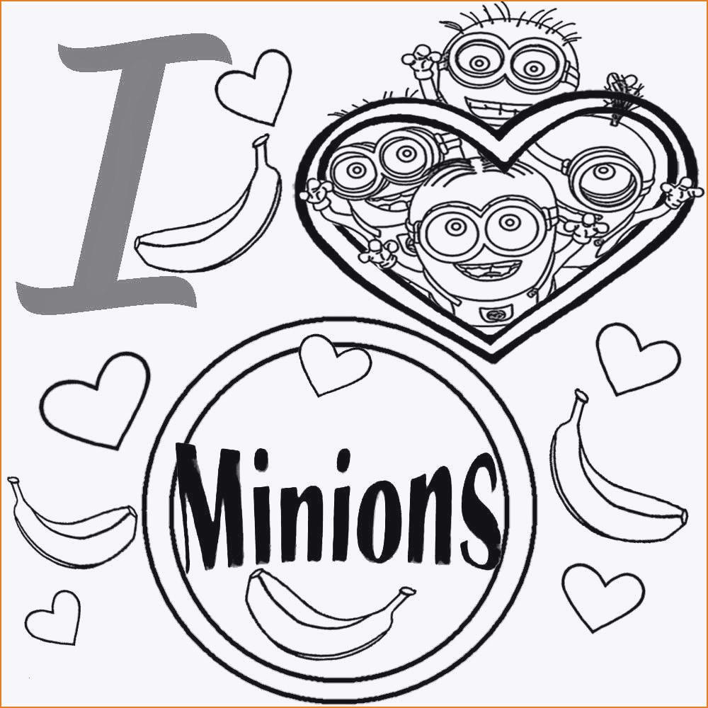 Minion Bilder Zum Ausmalen Genial 25 Frisch Minion Malvorlage