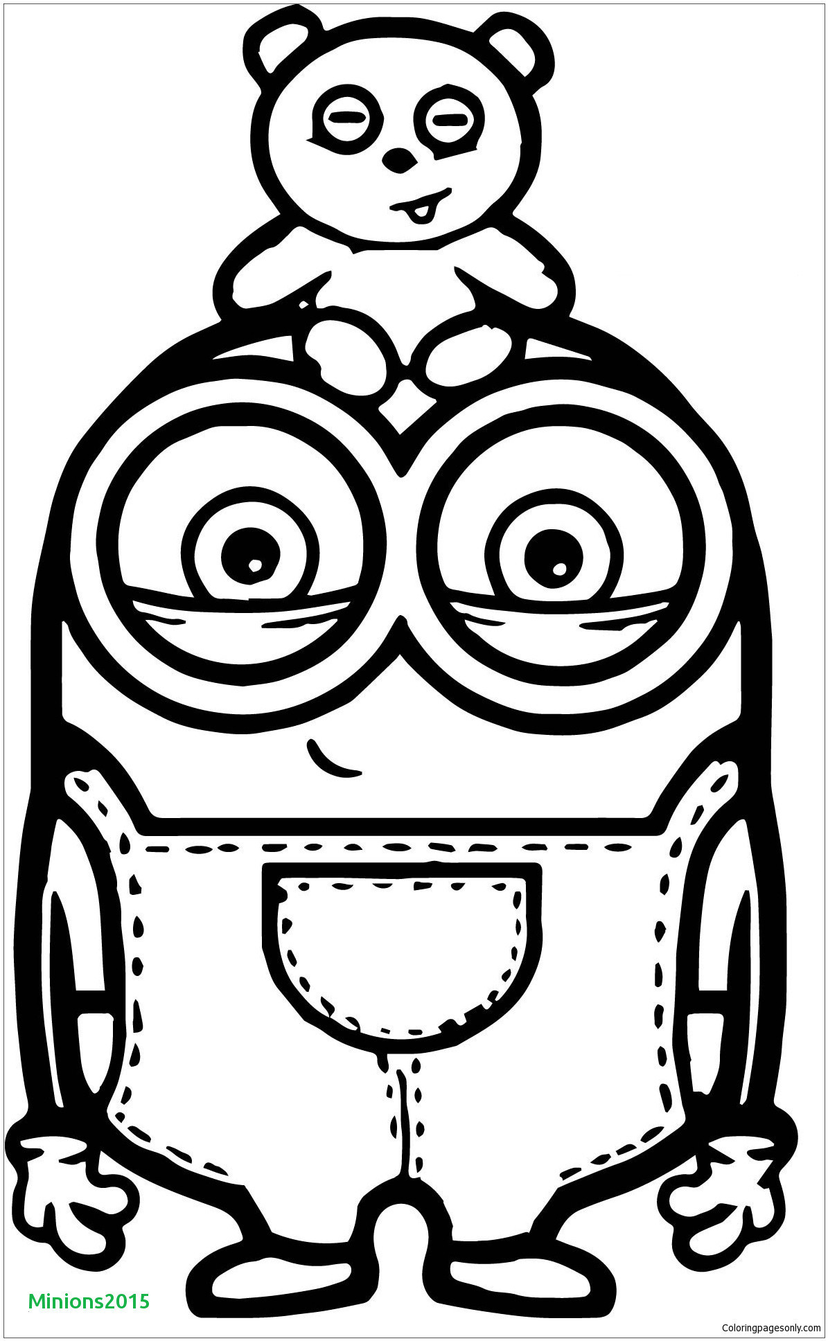 Minions Ausmalbilder Bob Teddy Frisch 40 Minions Ausmalbilder Bob Scoredatscore Elegant Minions Stock