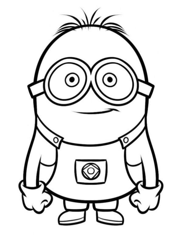 Minions Ausmalbilder Bob Teddy Neu Ausmalbild Ich Einfach Unverbesserlich Minion 2 Bild