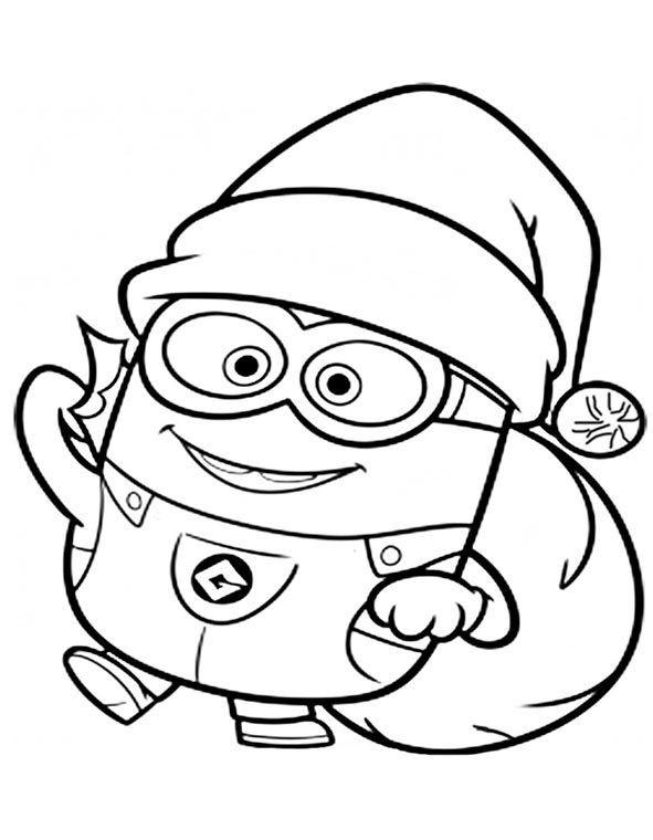 Minions Ausmalbilder Kostenlos Genial Bilder Zum Ausmalen Minions Weihnachten Kids Bild