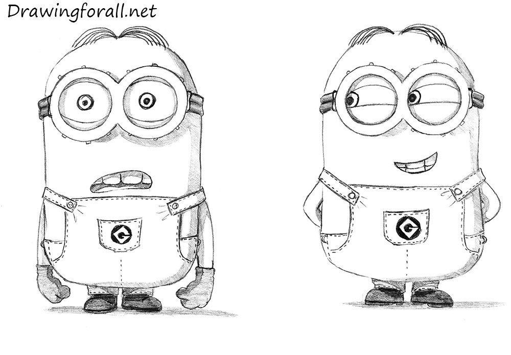 Minions Bilder Zum Ausdrucken Frisch How to Draw Minions by Stevelegrandviantart On Deviantart Sammlung