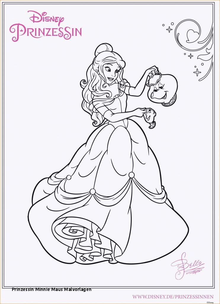 Minni Maus Malvorlage Genial Prinzessin Minnie Maus Malvorlagen Minnie Mouse Malvorlagen Best Fotografieren