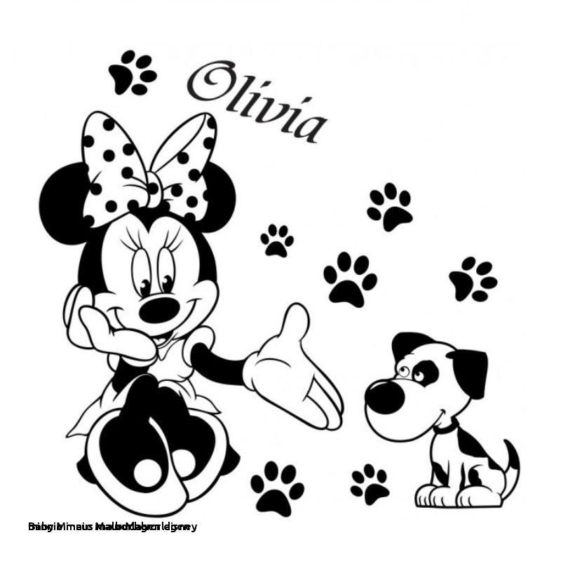 Minnie Maus Malvorlage Genial Minnie Maus Malvorlagen Disney 25 Minnie Maus Malbucher Paintcolor Das Bild