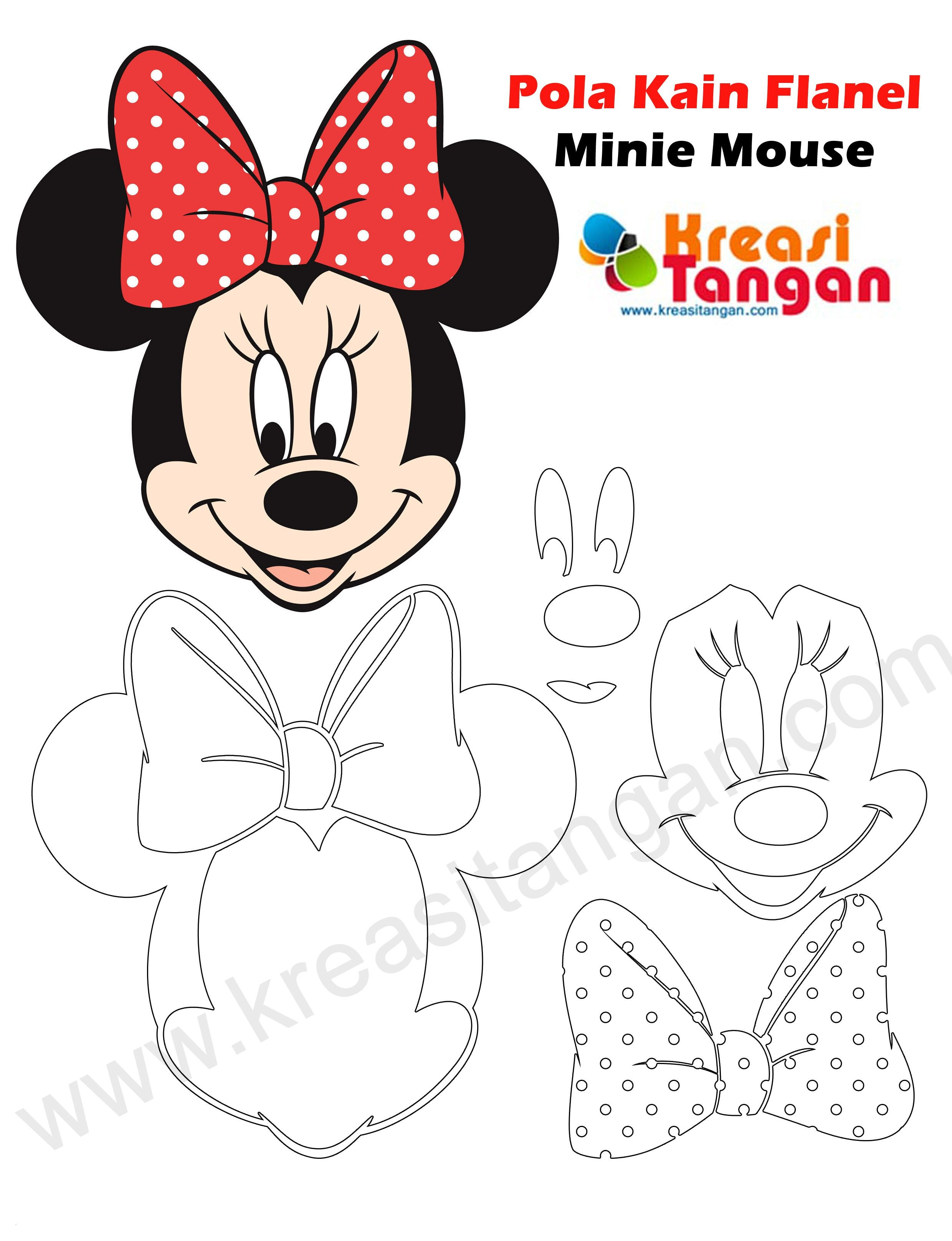 Minnie Mouse Malvorlage Das Beste Von Minnie Mouse Coloring Book Cool Image Print Coloring Image Print Bild