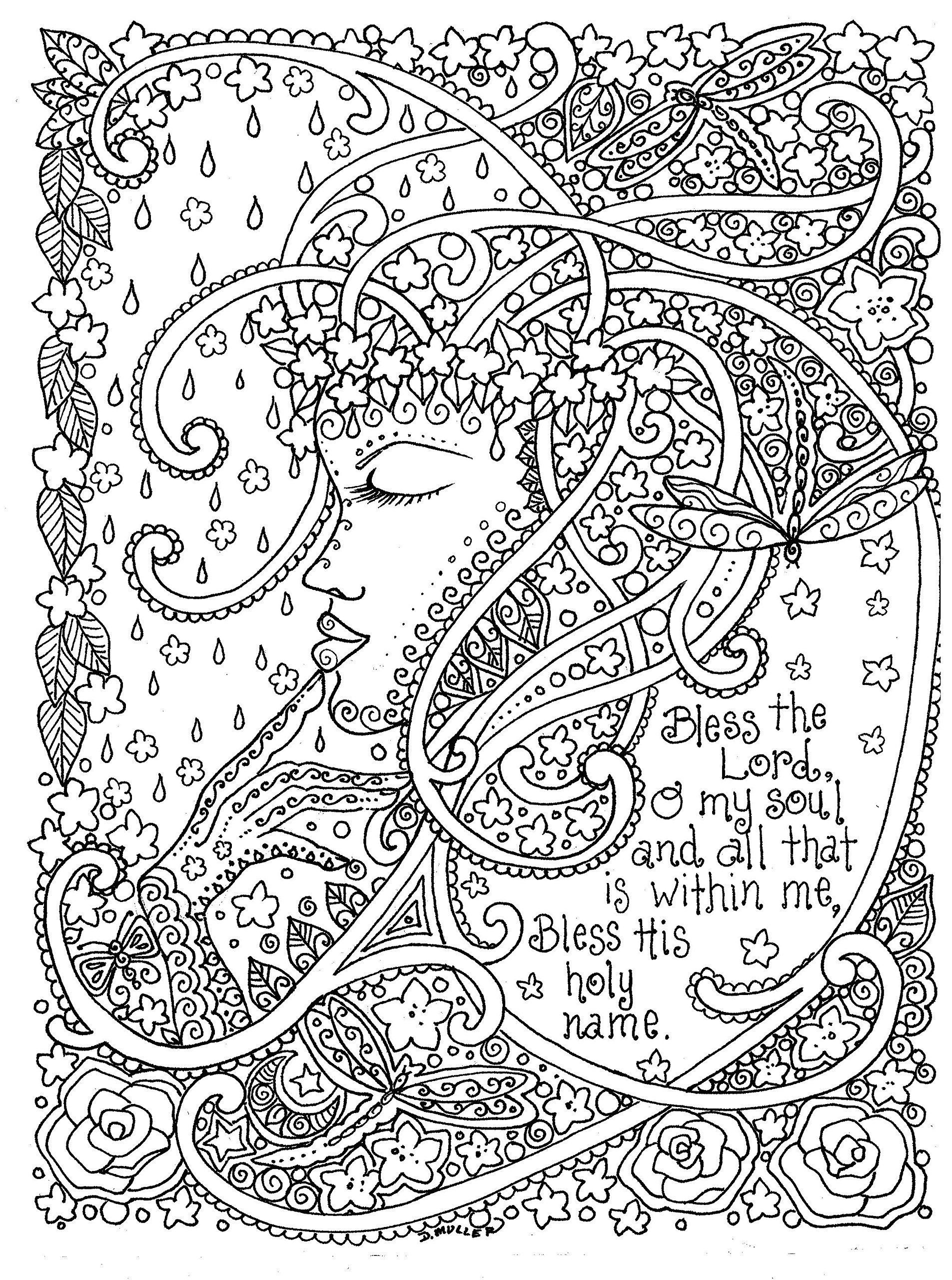 Monster Bilder Zum Ausmalen Frisch Adult Coloring Prayers to Color by Deborah Muller Inspirational Bild