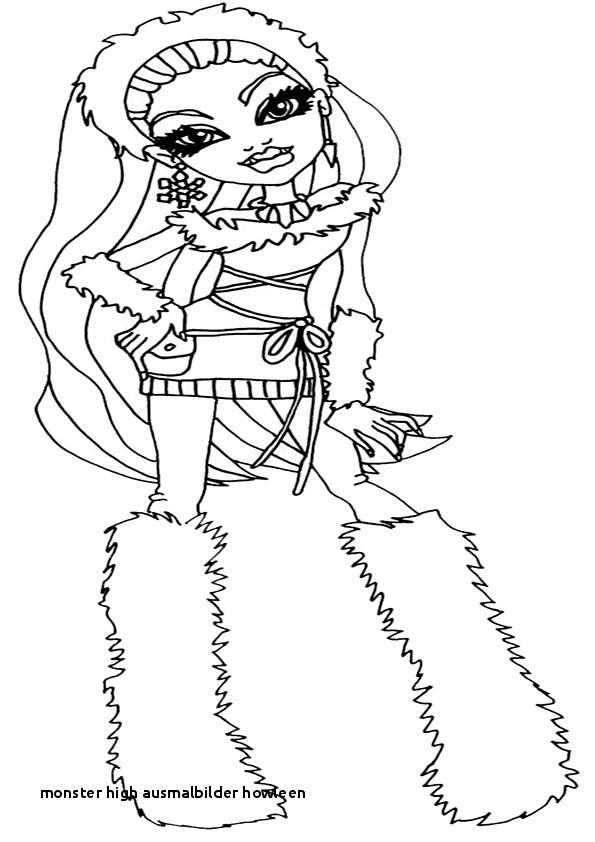 Monster High Ausmalbild Frisch 23 Monster High Ausmalbilder Howleen Sammlung